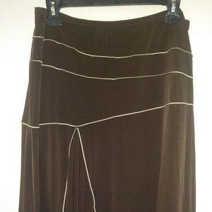 Ladies asymmetric skirt
